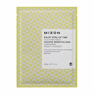 MIZON Успокаивающая тканевая маска для лица Enjoy Vital-Up Time Soothing Mask, 23 мл.
