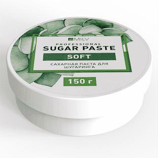 """Milv. Сахарная паста для шугаринга """"Sugar"""" МЯГКАЯ, 150 гр."""