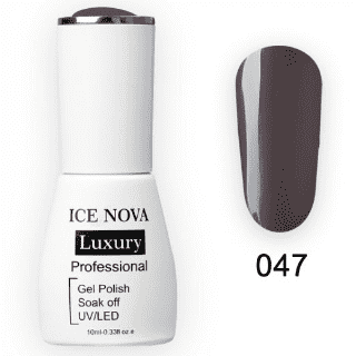 Гель-Лак ICE NOVA Luxury 047 Fog