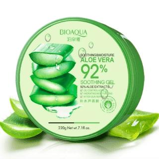Увлажняющий гель для лица и тела с натуральным соком Aloe Vera, 220 гр.